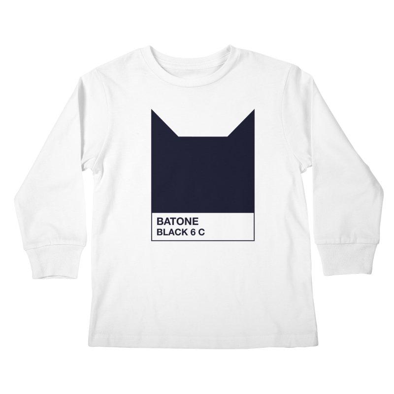 BATONE Kids Longsleeve T-Shirt by mandrie's Artist Shop