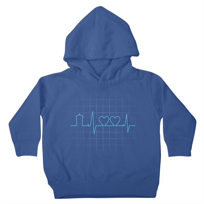 Two Heartbeats Kids Toddler Pullover Hoody by mandrie's Artist Shop