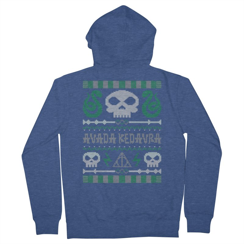 The Dark Sweater Women's Zip-Up Hoody by mandrie's Artist Shop