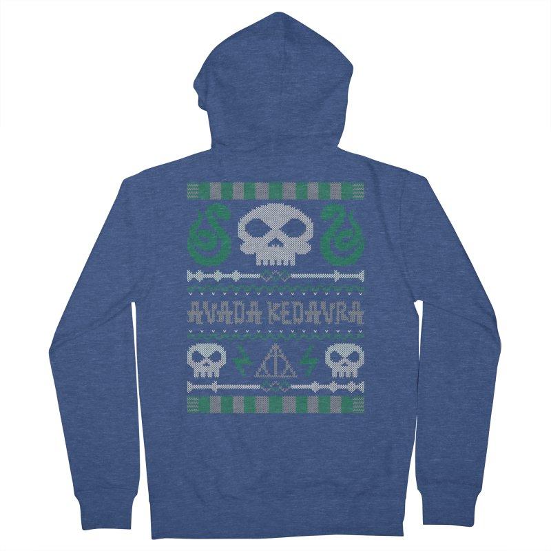 The Dark Sweater Men's Zip-Up Hoody by mandrie's Artist Shop