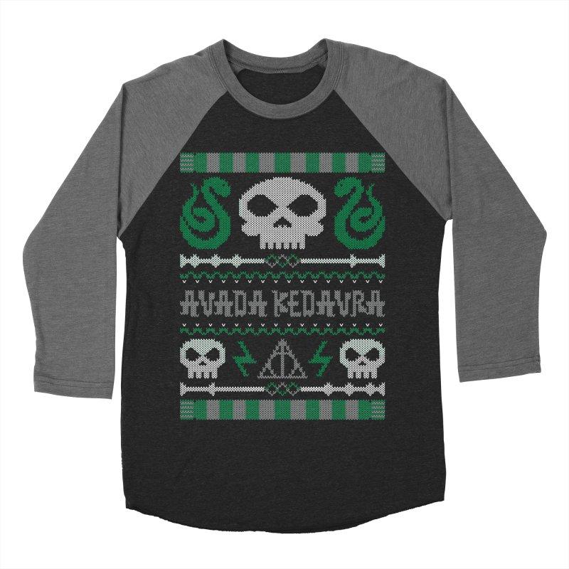 The Dark Sweater Men's Baseball Triblend T-Shirt by mandrie's Artist Shop