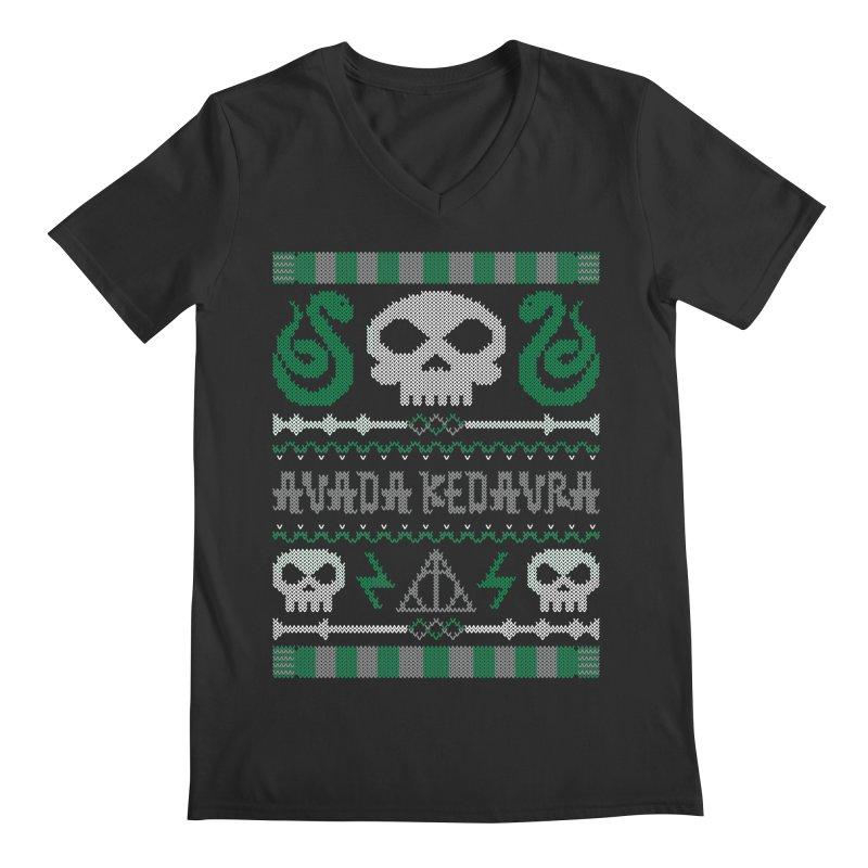 The Dark Sweater Men's V-Neck by mandrie's Artist Shop