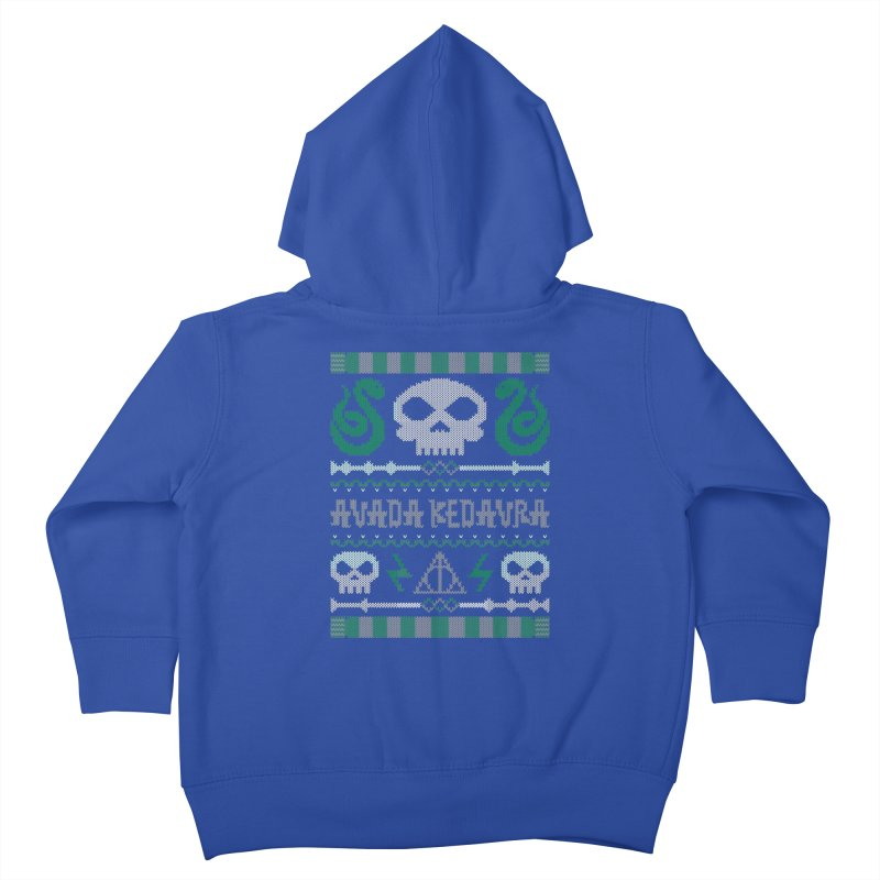 The Dark Sweater Kids Toddler Zip-Up Hoody by mandrie's Artist Shop