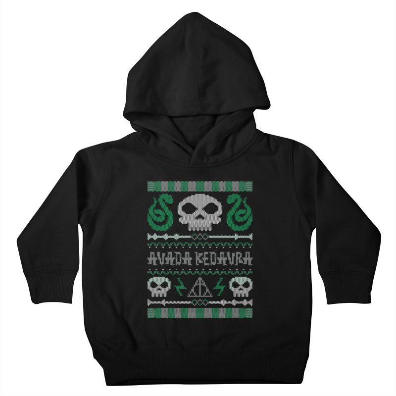 The Dark Sweater Kids Toddler Pullover Hoody by mandrie's Artist Shop