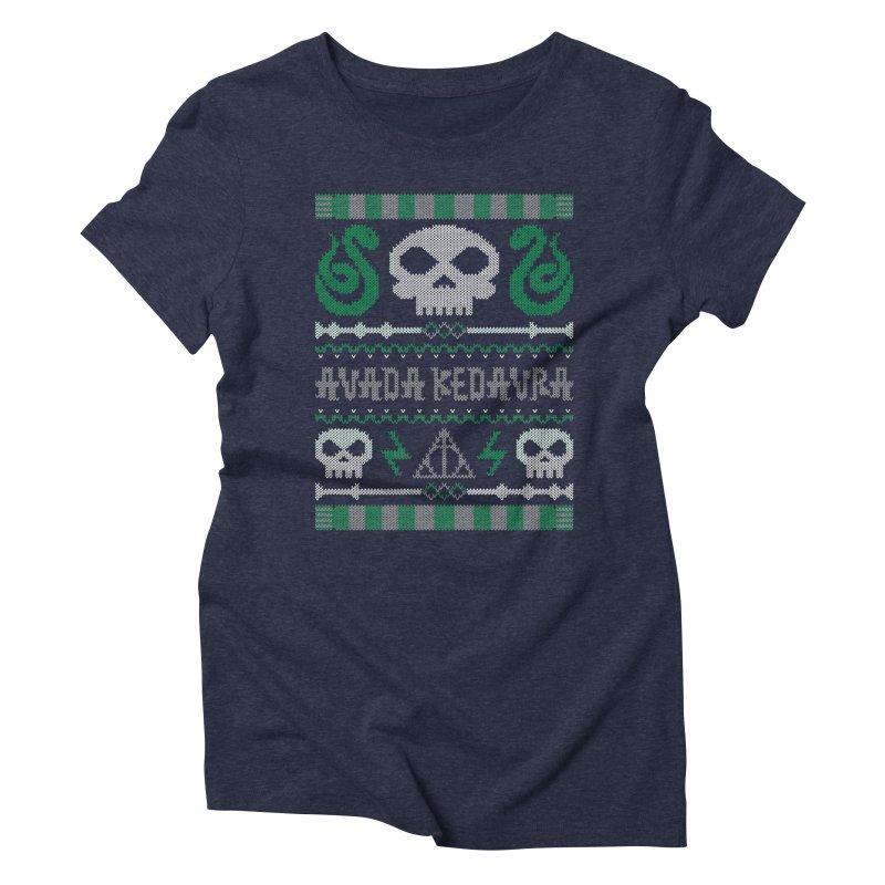 The Dark Sweater Women's Triblend T-shirt by mandrie's Artist Shop