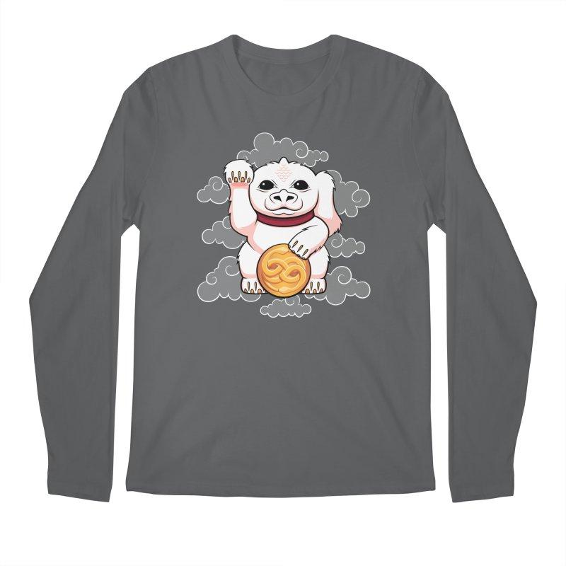 Lucky Dragon Men's Longsleeve T-Shirt by mandrie's Artist Shop