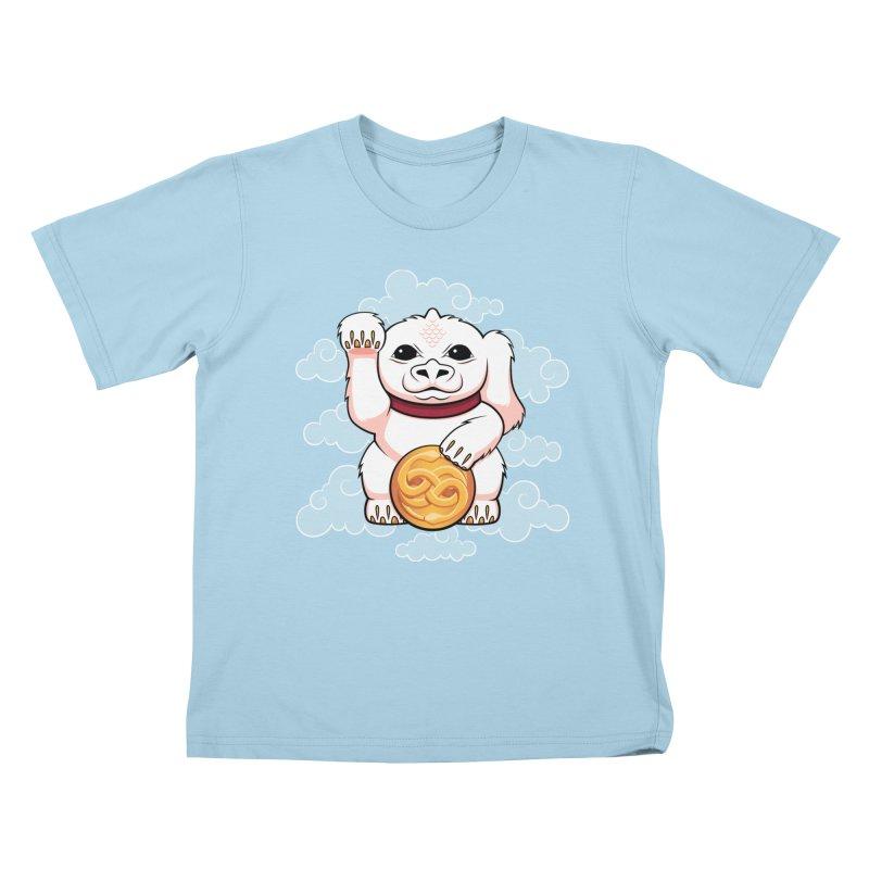 Lucky Dragon Kids T-shirt by mandrie's Artist Shop