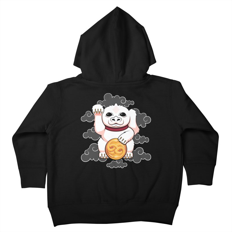Lucky Dragon Kids Toddler Zip-Up Hoody by mandrie's Artist Shop