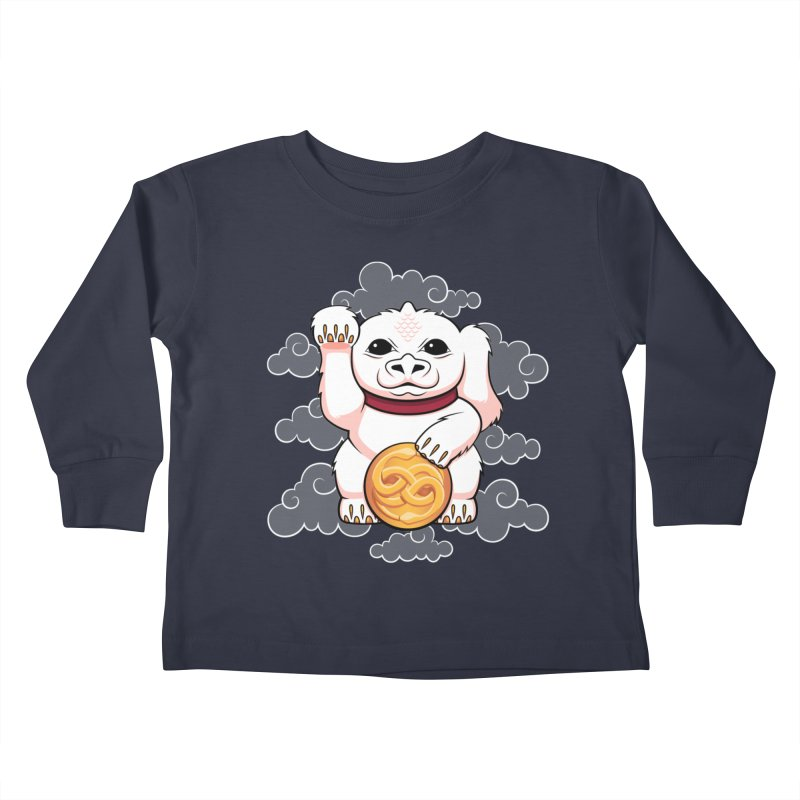 Lucky Dragon Kids Toddler Longsleeve T-Shirt by mandrie's Artist Shop