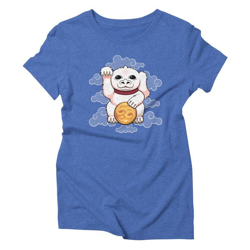 Lucky Dragon Women's Triblend T-shirt by mandrie's Artist Shop