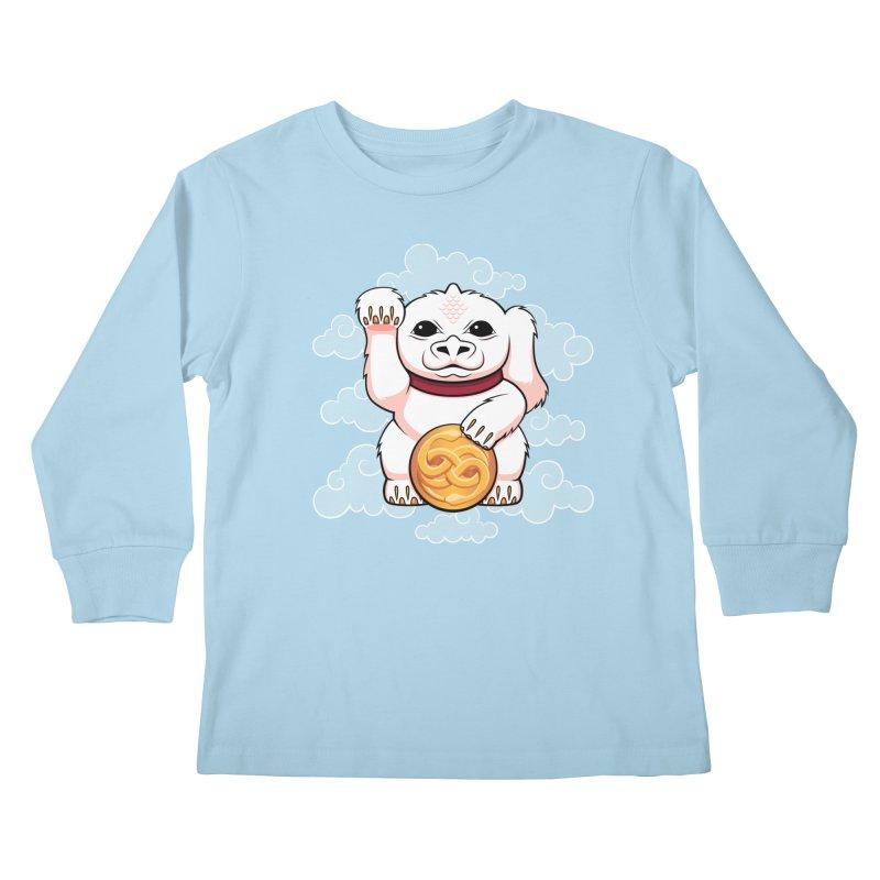 Lucky Dragon Kids Longsleeve T-Shirt by mandrie's Artist Shop