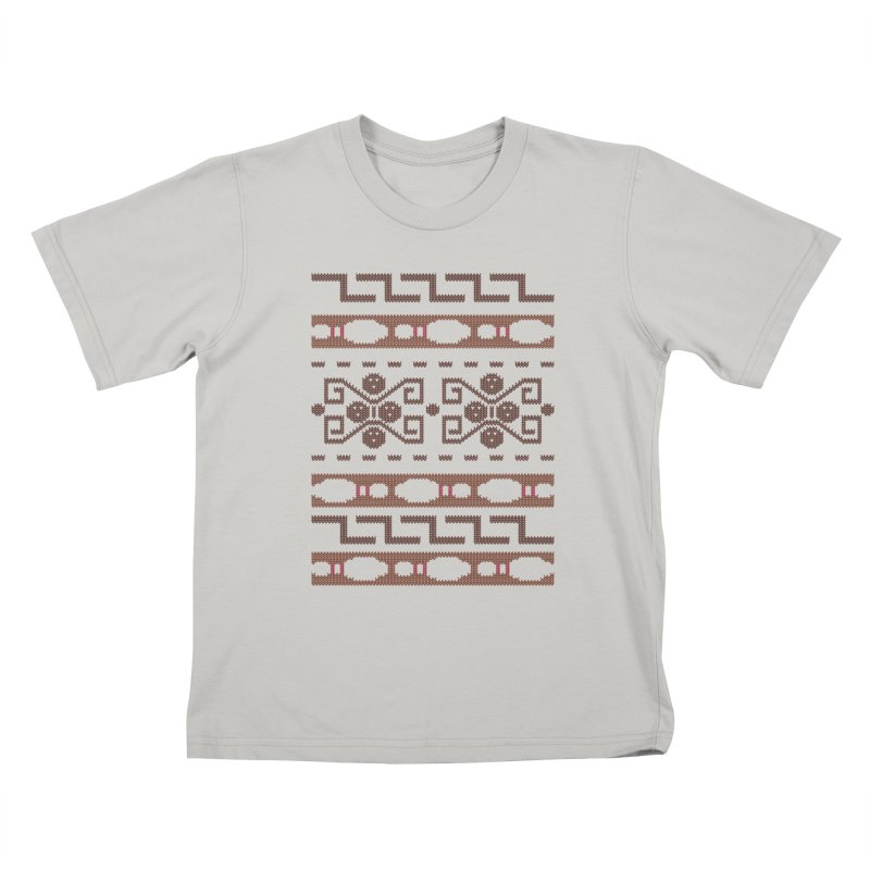 The Dude's Duds Kids T-shirt by mandrie's Artist Shop