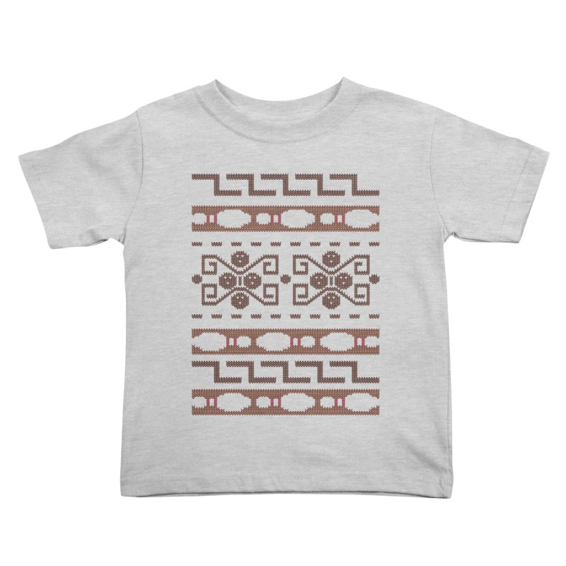 The Dude's Duds Kids Toddler T-Shirt by mandrie's Artist Shop