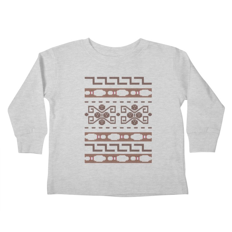 The Dude's Duds Kids Toddler Longsleeve T-Shirt by mandrie's Artist Shop