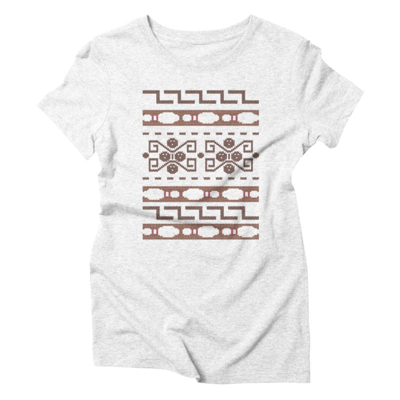 The Dude's Duds Women's Triblend T-shirt by mandrie's Artist Shop