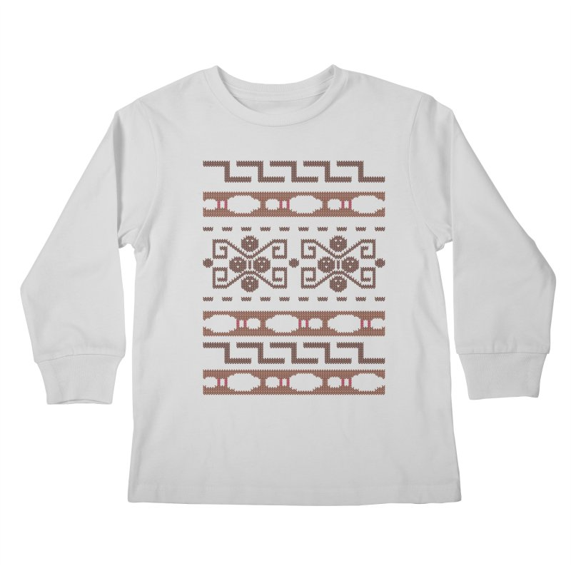 The Dude's Duds Kids Longsleeve T-Shirt by mandrie's Artist Shop