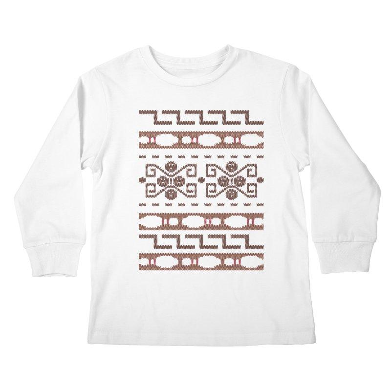 The Dude's Duds Kids Longsleeve T-Shirt by mandrie's Artist Shop