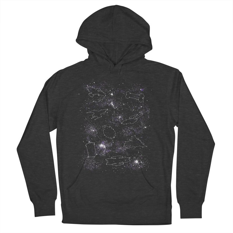 Star Ships Women's Pullover Hoody by mandrie's Artist Shop