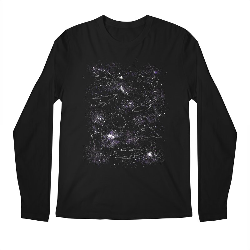Star Ships Men's Longsleeve T-Shirt by mandrie's Artist Shop
