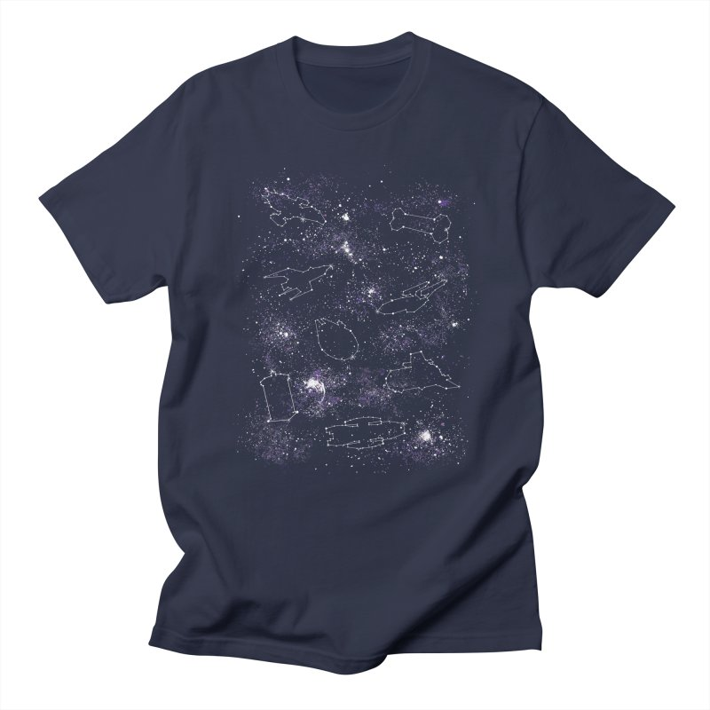 Star Ships Men's T-shirt by mandrie's Artist Shop