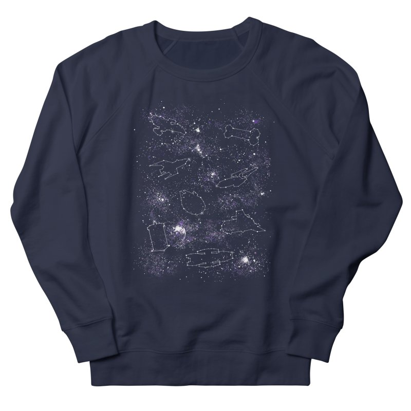 Star Ships Women's Sweatshirt by mandrie's Artist Shop