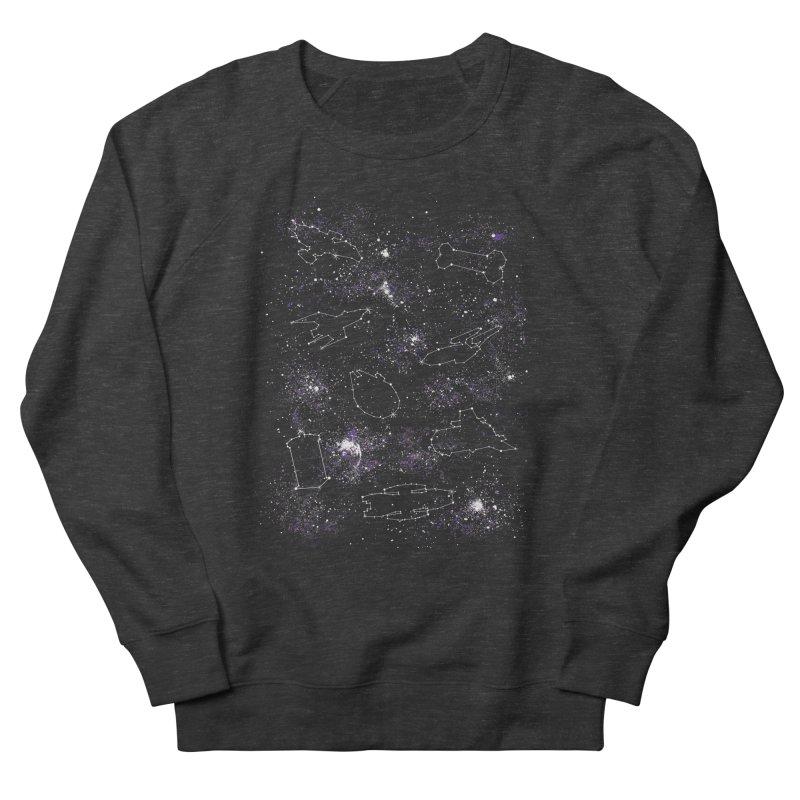 Star Ships Men's Sweatshirt by mandrie's Artist Shop