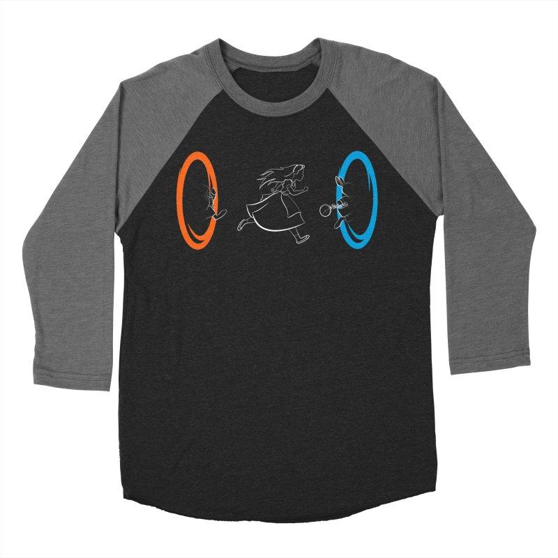 Forever Late Men's Baseball Triblend T-Shirt by mandrie's Artist Shop