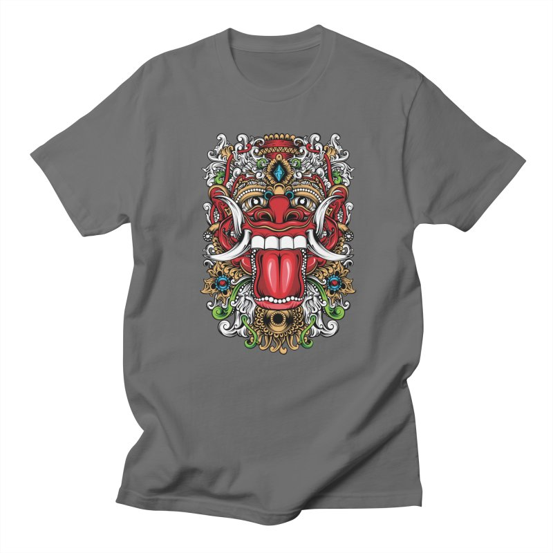 Red Boma Men's T-Shirt by MHYdesign