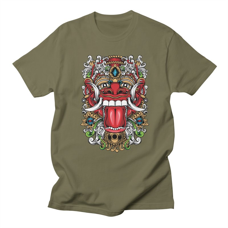 Red Boma Men's Regular T-Shirt by MHYdesign