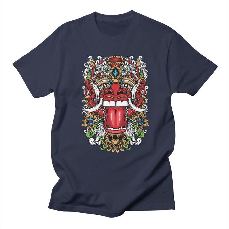 Red Boma Men's Regular T-Shirt by MHYdesign