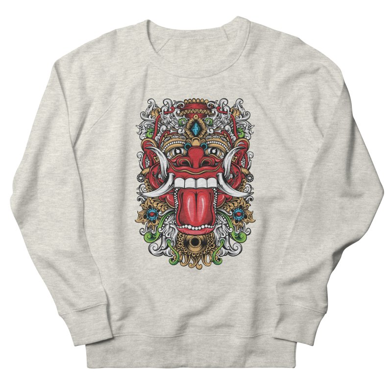 Red Boma Women's French Terry Sweatshirt by MHYdesign