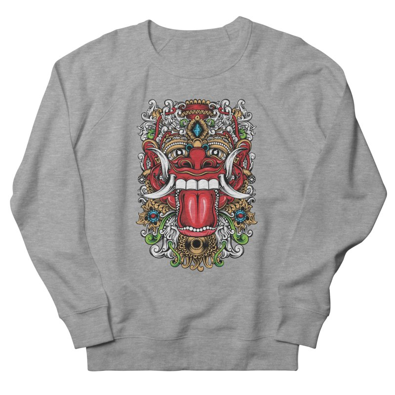 Red Boma Men's Sweatshirt by MHYdesign