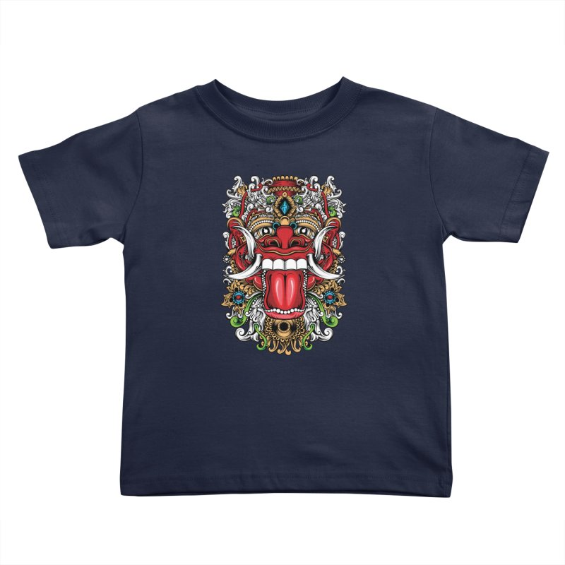Red Boma Kids Toddler T-Shirt by MHYdesign