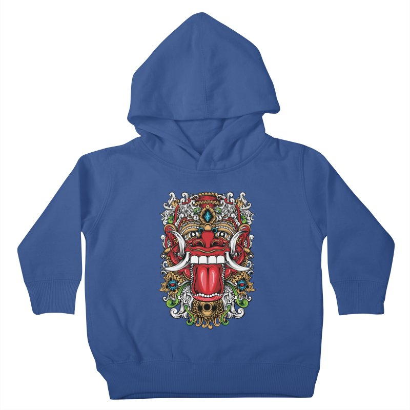 Red Boma Kids Toddler Pullover Hoody by MHYdesign