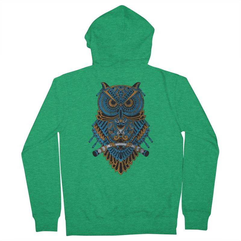 Machinery Owl Women's Zip-Up Hoody by MHYdesign