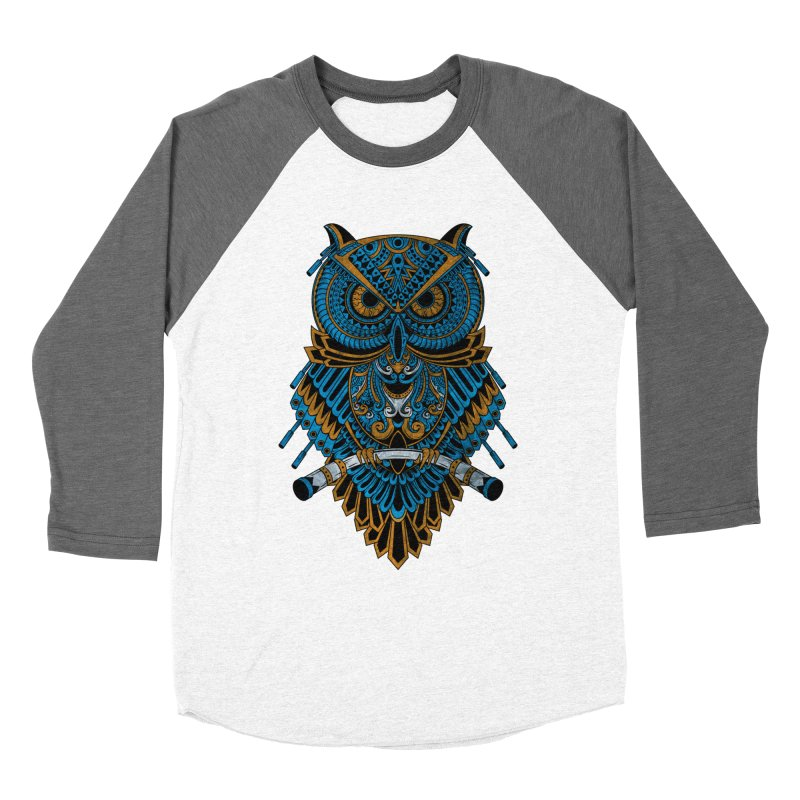 Machinery Owl Women's Longsleeve T-Shirt by MHYdesign