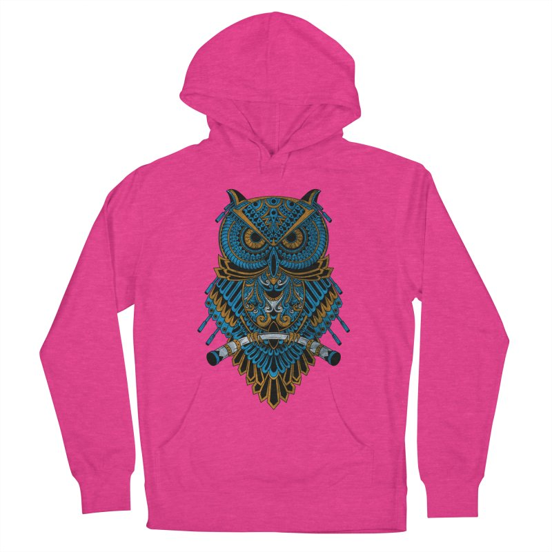 Machinery Owl Women's Pullover Hoody by MHYdesign