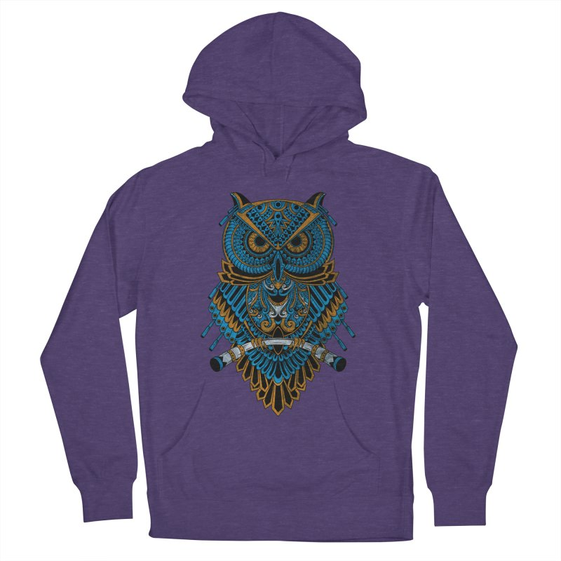 Machinery Owl Men's Pullover Hoody by MHYdesign