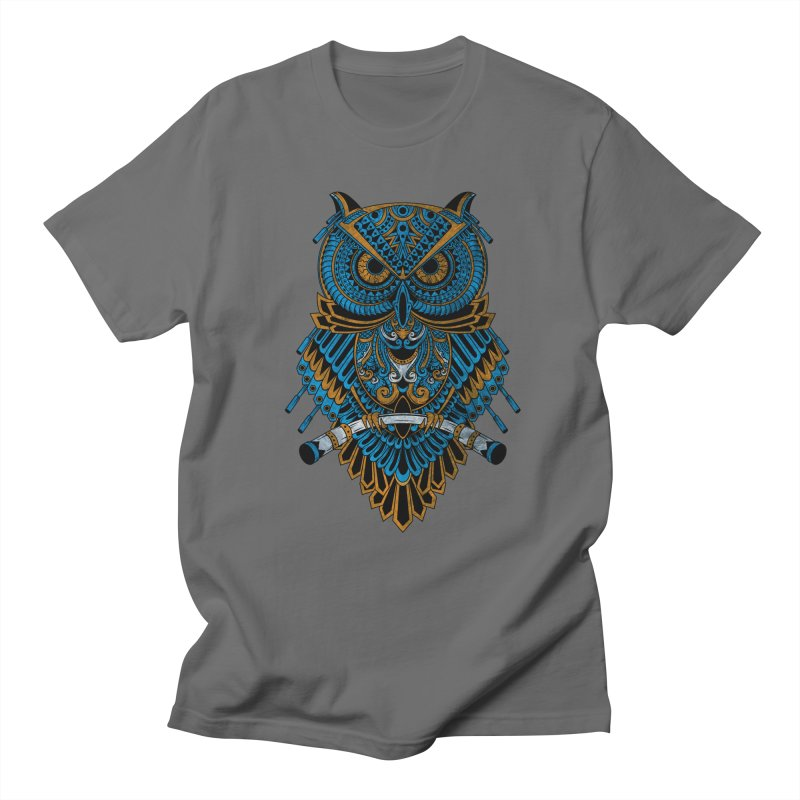 Machinery Owl Men's T-Shirt by MHYdesign