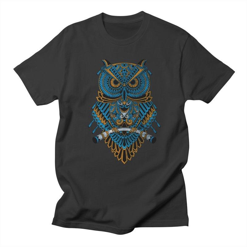 Machinery Owl Men's Regular T-Shirt by MHYdesign