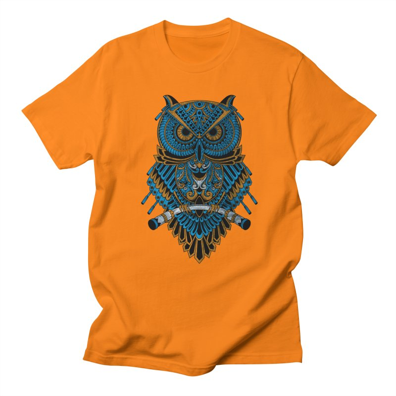 Machinery Owl Men's T-Shirt by MHYdesign