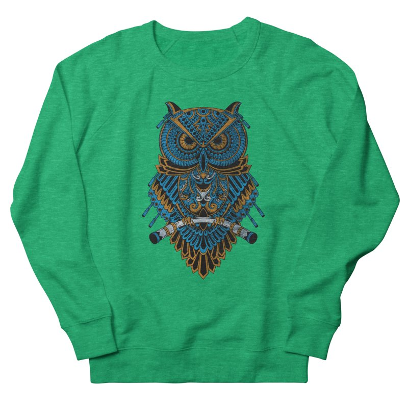 Machinery Owl Women's Sweatshirt by MHYdesign