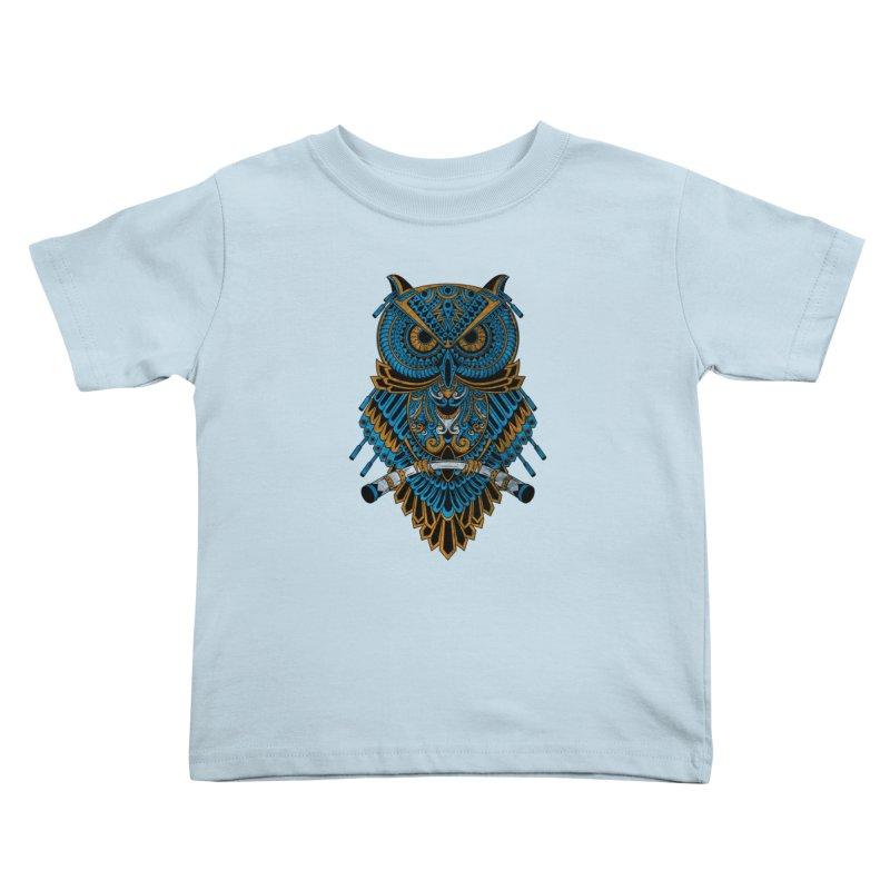 Machinery Owl Kids Toddler T-Shirt by MHYdesign