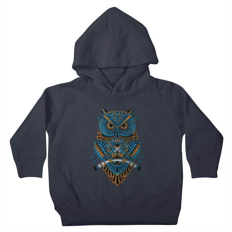 Machinery Owl Kids Toddler Pullover Hoody by MHYdesign
