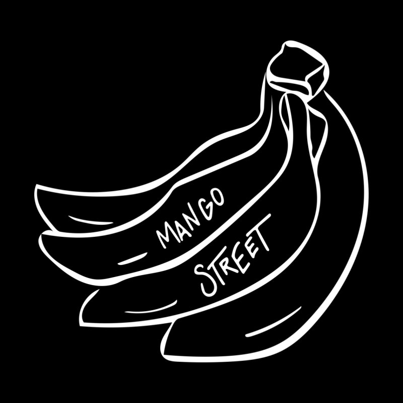 Banana Street Men's T-Shirt by Mango Street Merch