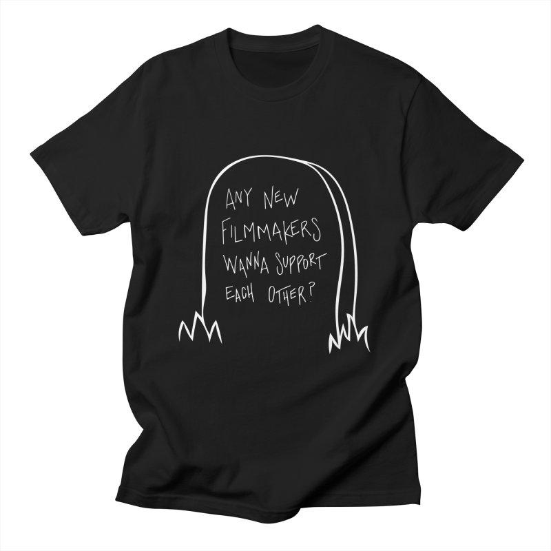 Any Small Filmmakers? Men's T-Shirt by Mango Street Merch
