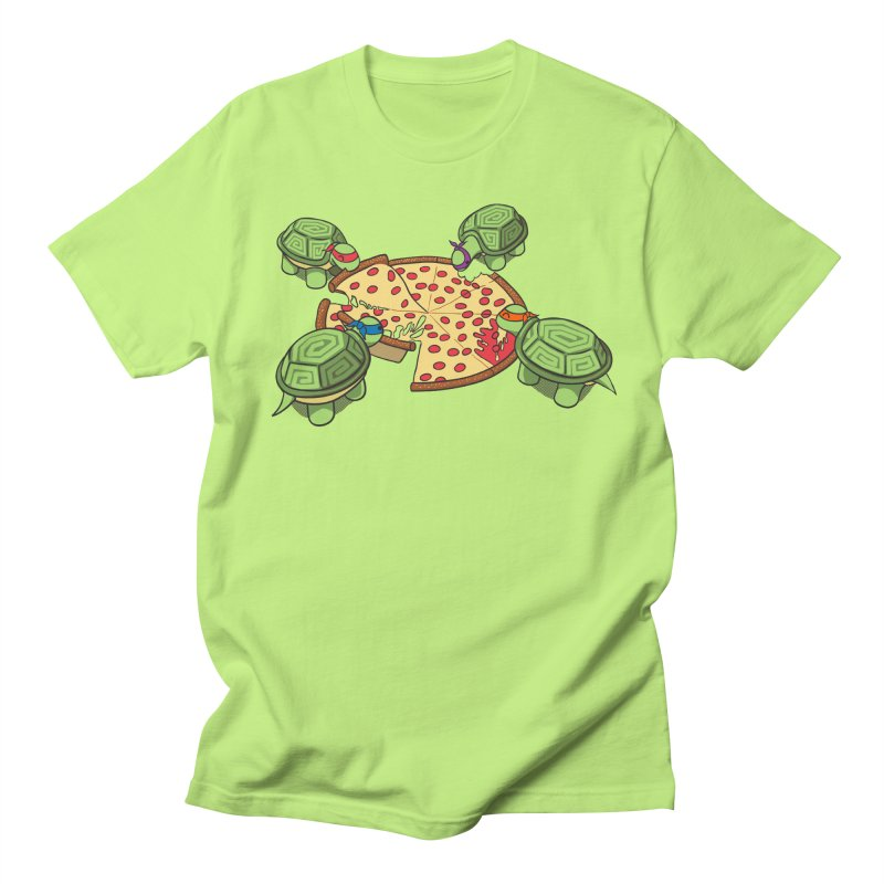 hungry hungry turtles ninja version Men's T-Shirt by manikx's Artist Shop