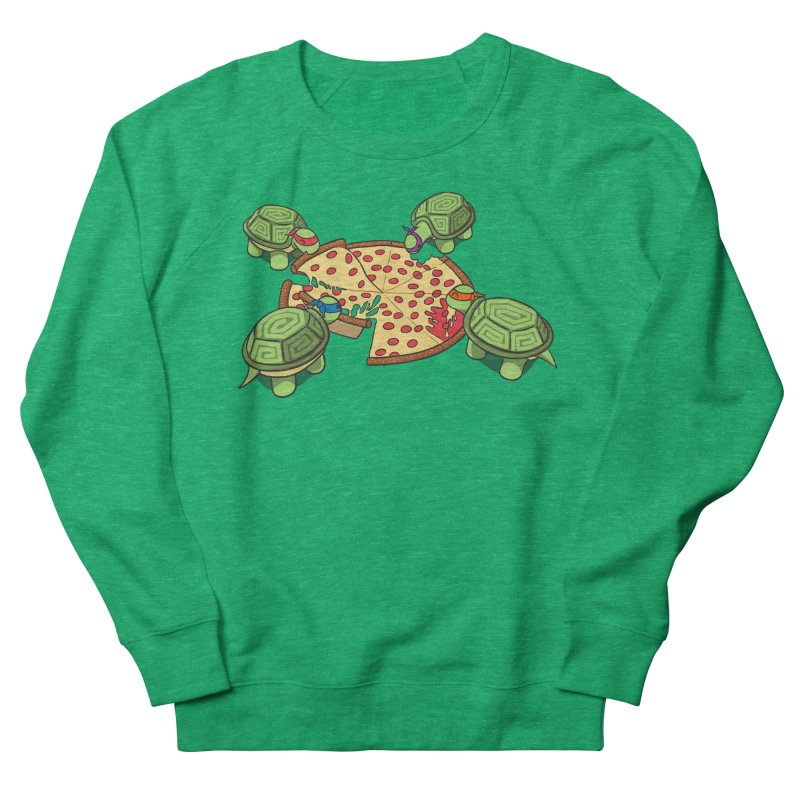 hungry hungry turtles ninja version Men's Sweatshirt by manikx's Artist Shop