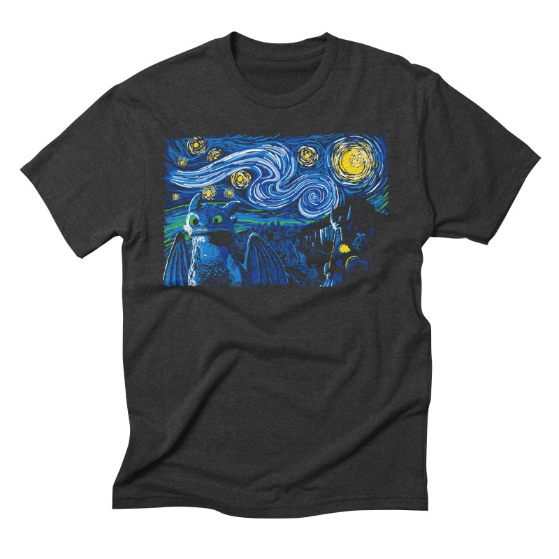 Starry Berk Men's Triblend T-Shirt by manikx's Artist Shop