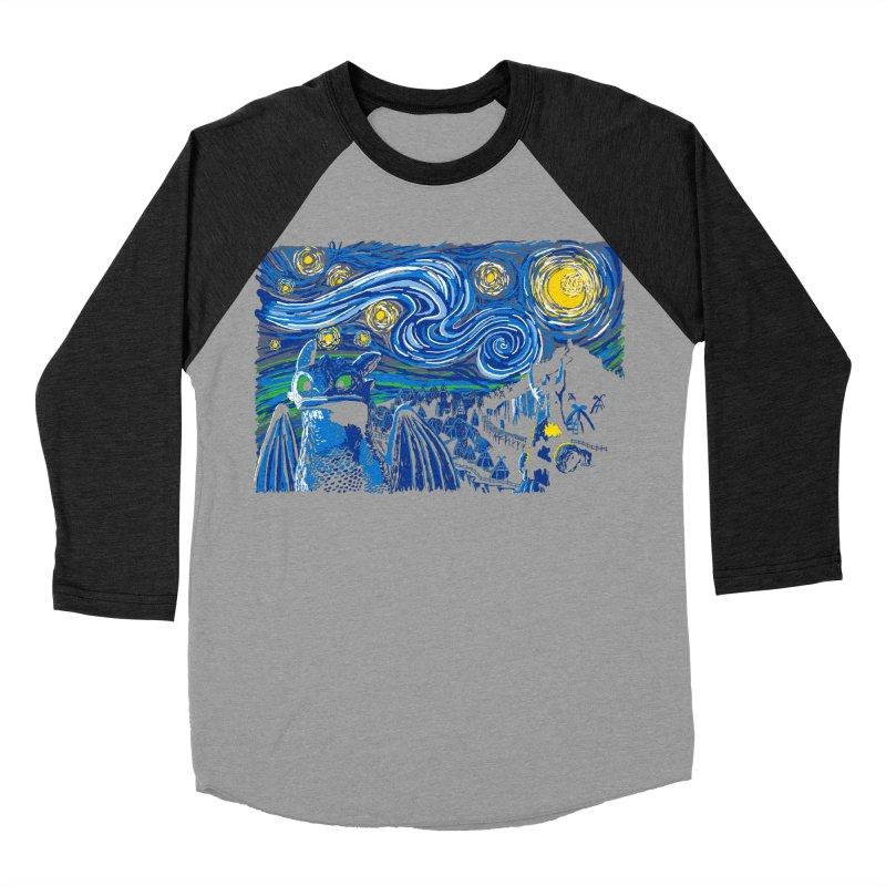 Starry Berk Men's Baseball Triblend T-Shirt by manikx's Artist Shop